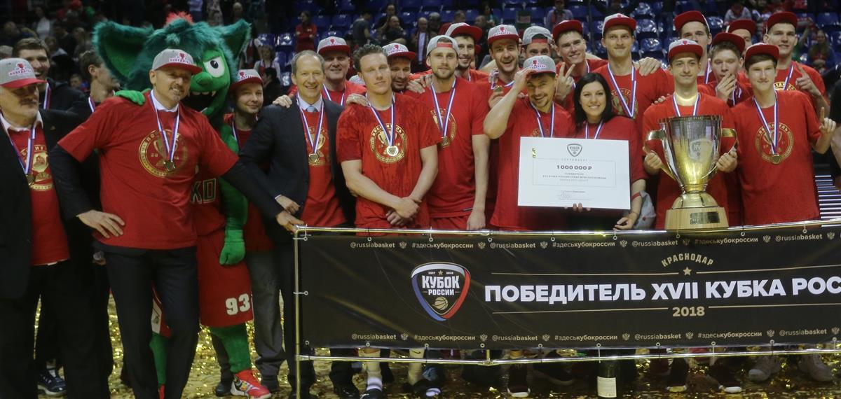 «Локомотив-Кубань» - обладатель Кубка России-2017/18!