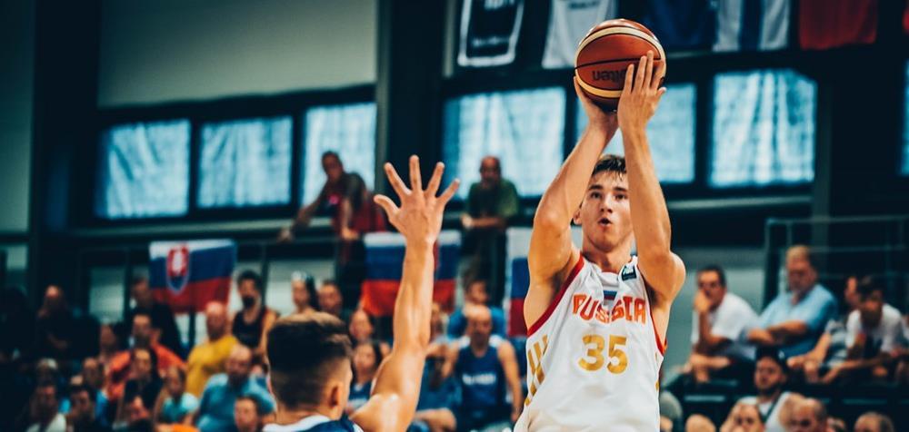 Юноши U18 уступили Литве
