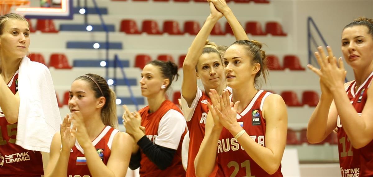 Пять баскетболисток из Курска вызвали в сборную