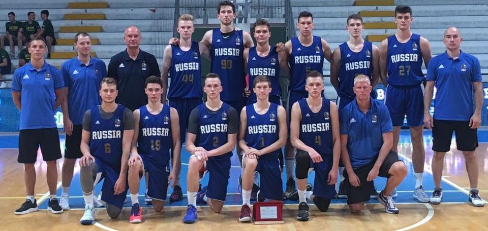 Юношеская сборная U18 заняла на турнире в Италии третье место