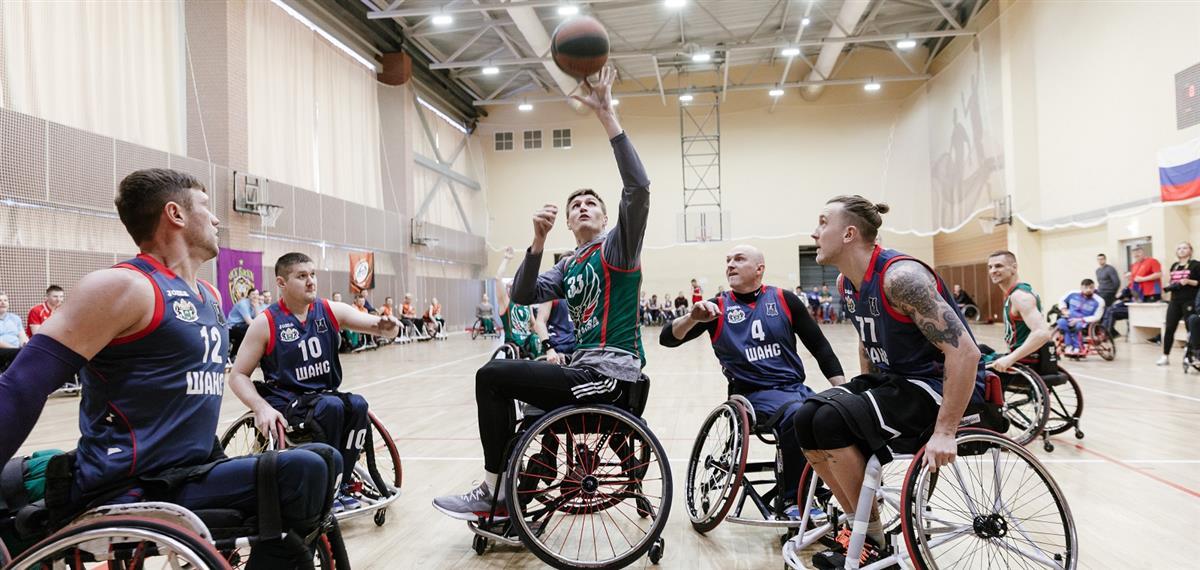 Андрей Кириленко стал гостем чемпионата России по баскетболу на колясках