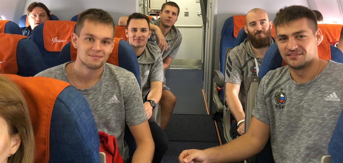 Сборная России отправилась на Кубок Европы