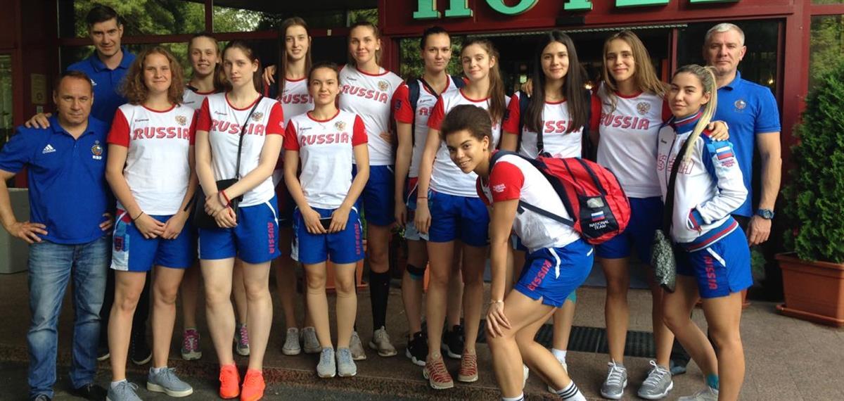 Девушки U20 отправились на Первенство Европы