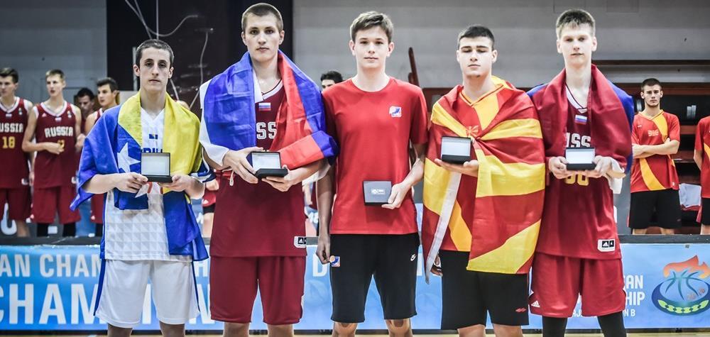 Савков – MVP Первенства Европы, Евсеев – в символической пятерке!