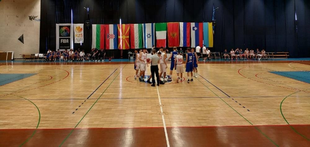 Юноши U14 уверенно выиграли два первых матча в Любляне