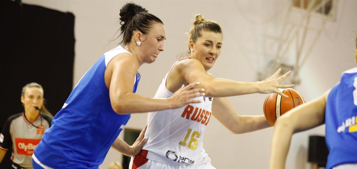 Женская сборная обыграла Украину на турнире в Риге