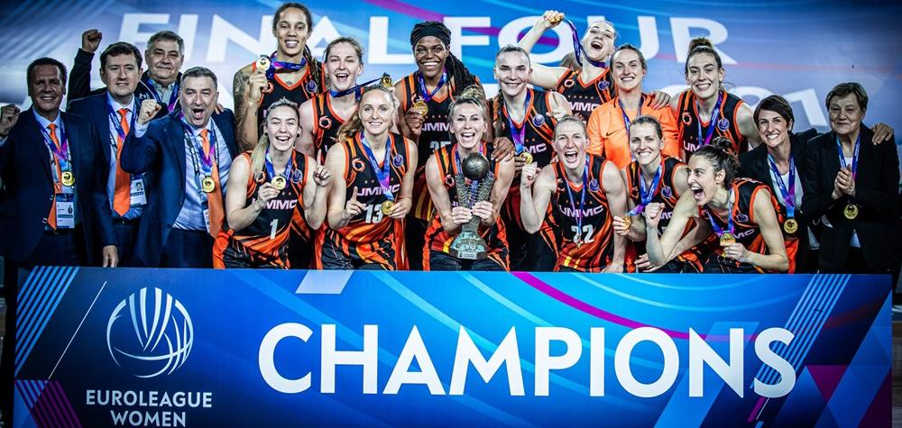 УГМК – 6-кратный чемпион Евролиги!