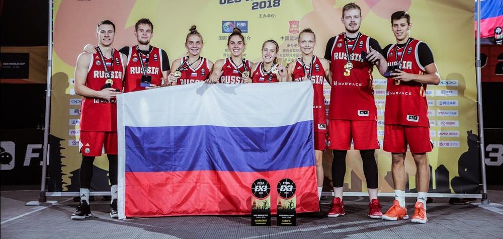 Впервые участниками Кубка мира станут все 6 сборных России