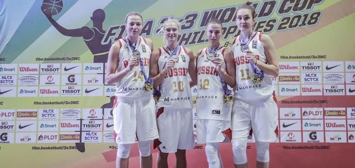 Российские девушки завоевали серебро Кубка мира!