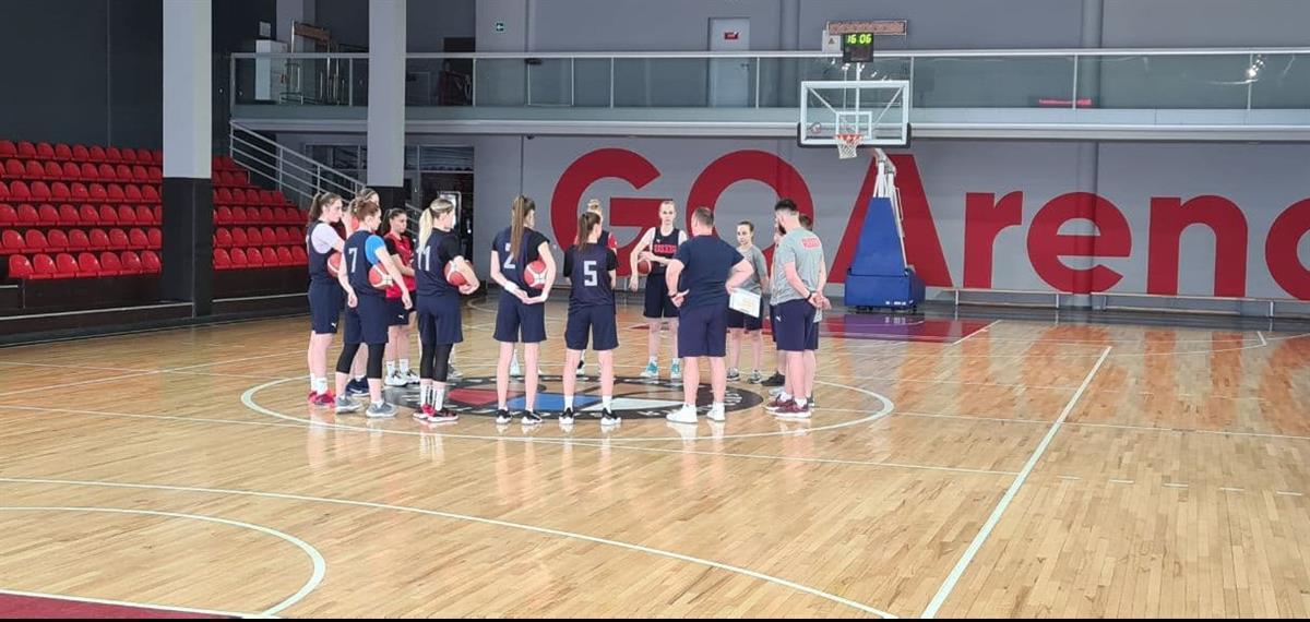 Юниорки U20 начали подготовку к Первенству Европы