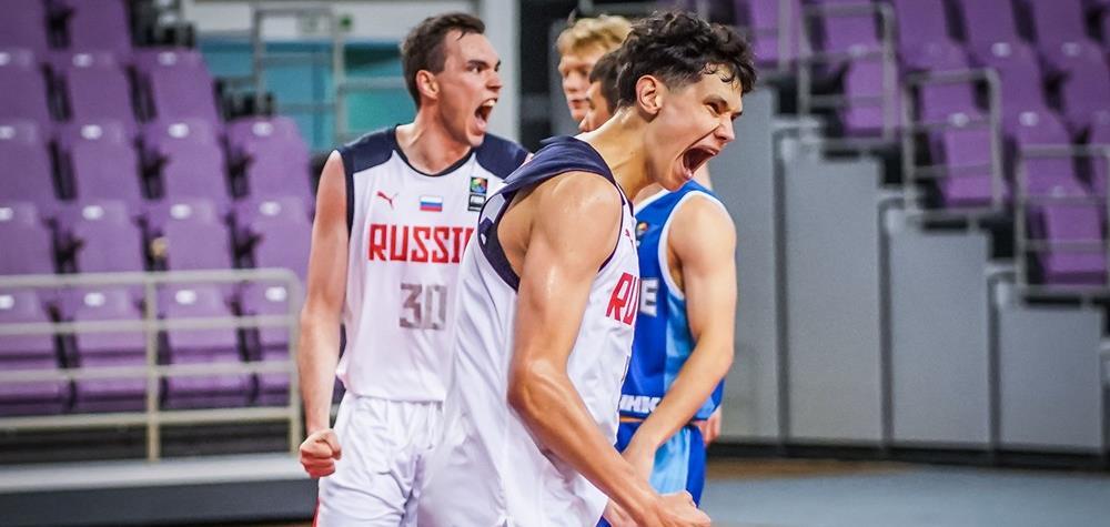 Юниоры U20 разгромили Украину