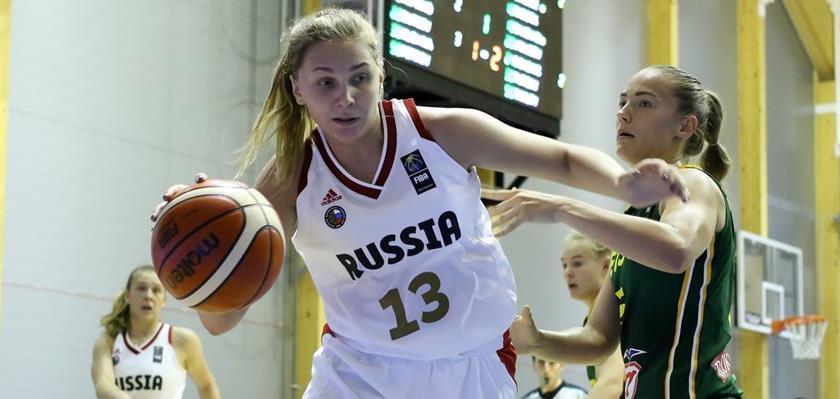Женская сборная U20 одержала вторую победу над Латвией